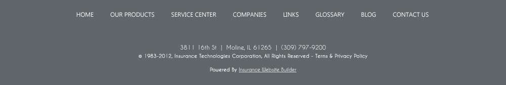 Bill Potter Insurance Agency Inc Home Page